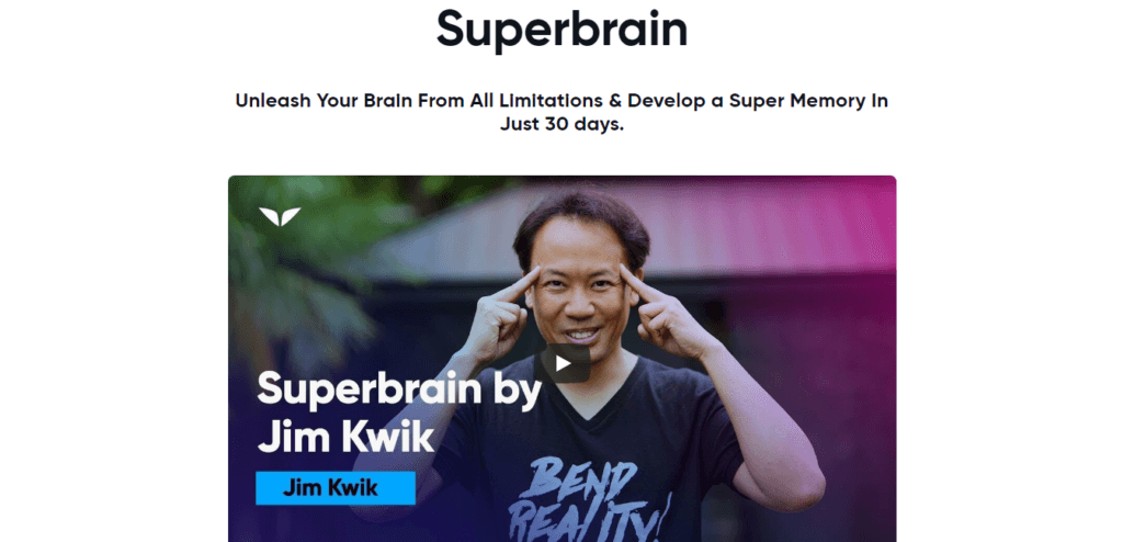 Jim Kwik Superbrain review
