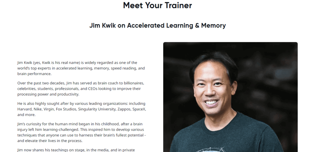 Jim Kwik's Superbrain Trainer