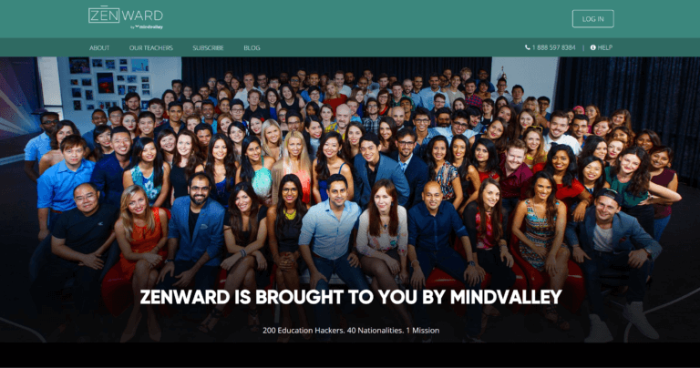 Zenward Mindvalley yoga app