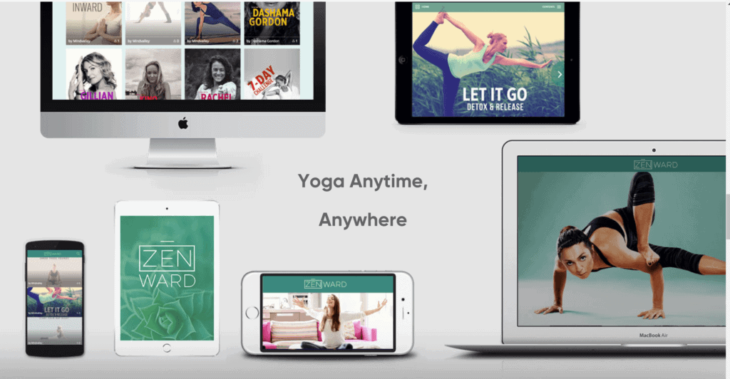 Zenward yoga app by Mindvalley review