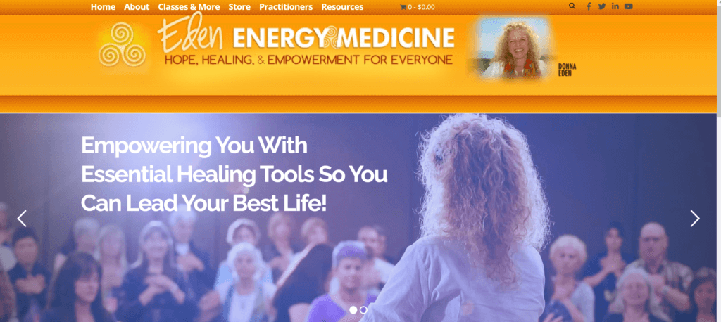 Dona Eden Energy medicine classes review