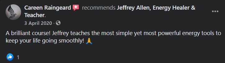 Jeffrey Allen Facebook User Review