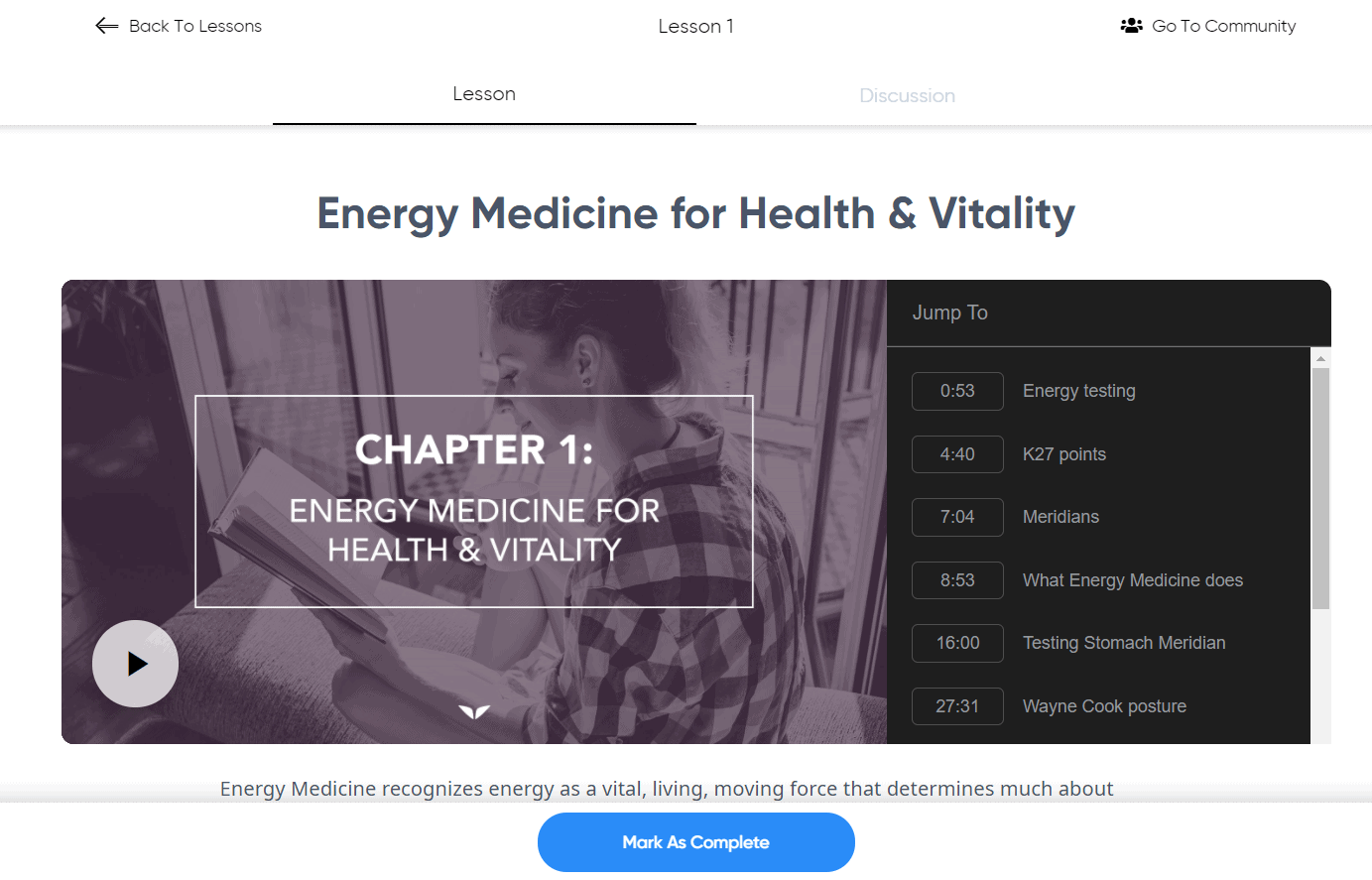 Mindvalley Energy Medicine Review