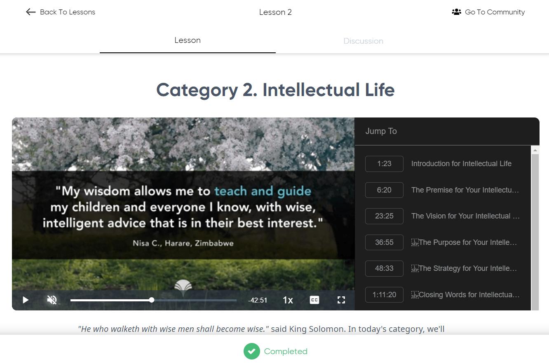 Mindvalley Lifebook - Intellectual Life