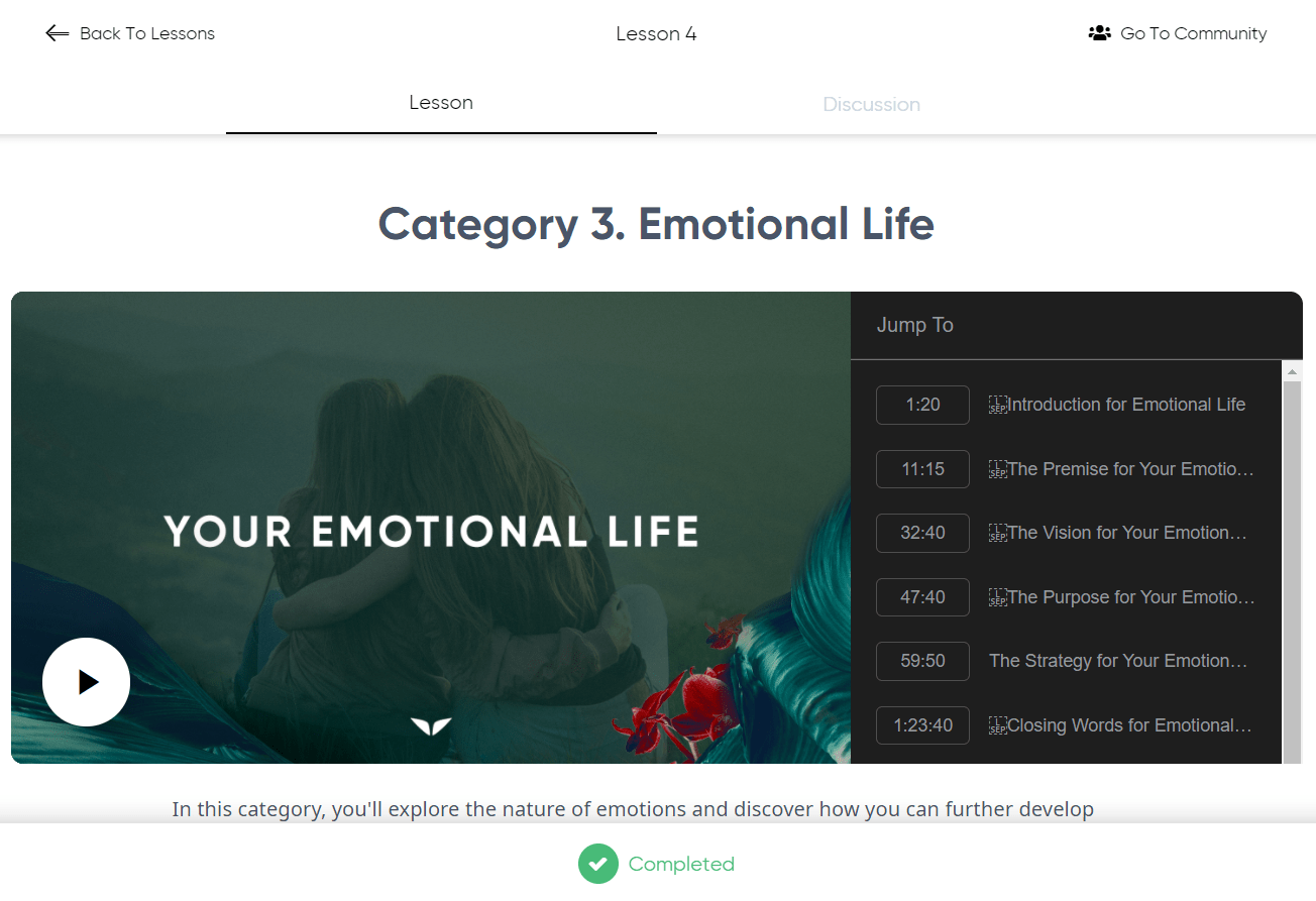 Mindvalley Lifebook Review - Emotional Life