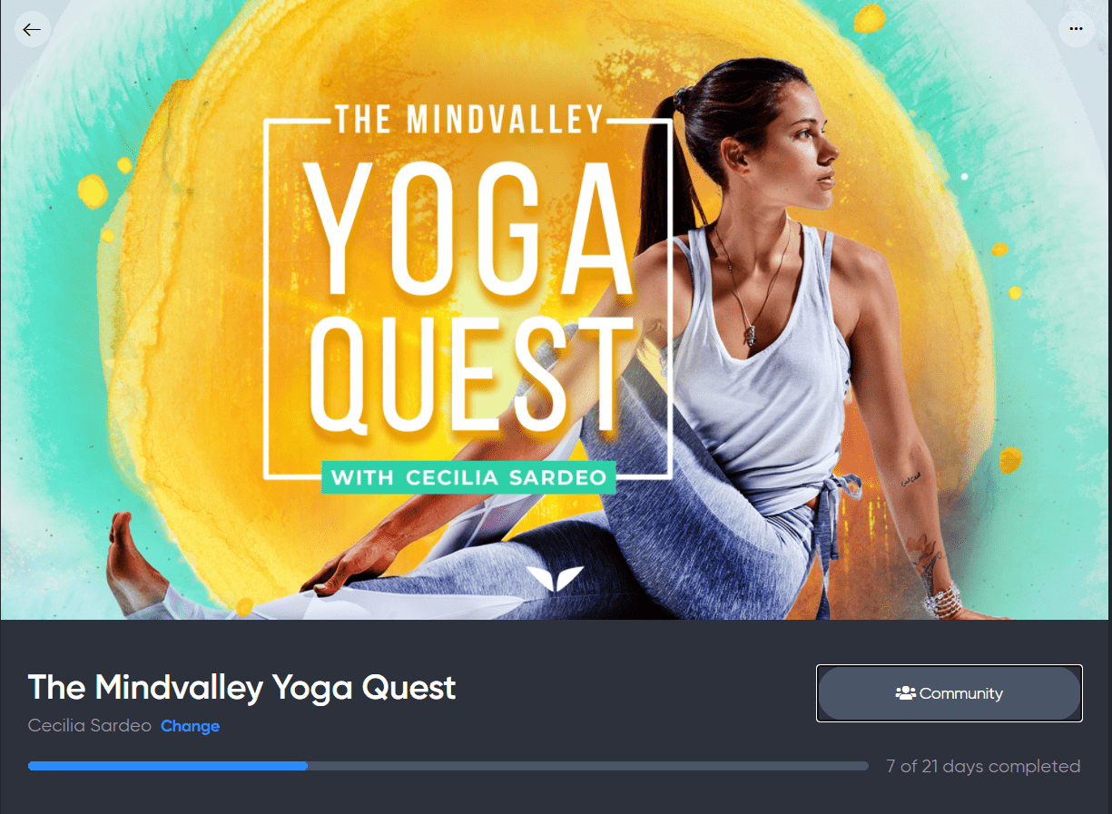 Mindvalley Yoga Quest Review