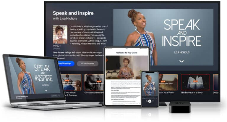Speak and Inspire Quest review- Lisa Nichols