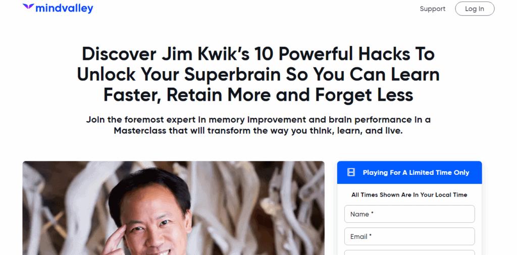 Jim Kwik Superbrain Course Review