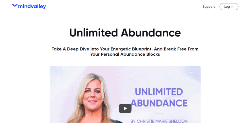 Unlimited Abundance Course-Overview