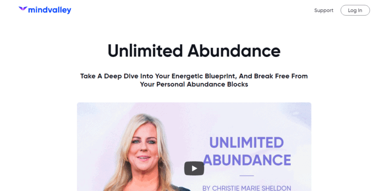 Mindvalley Unlimited Abundance Review