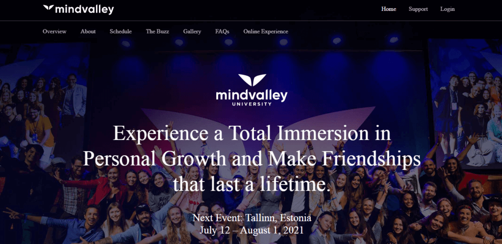 Mindvalley University Review-Experience The Change