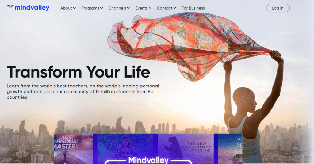 Mindvalley- Online Learning
