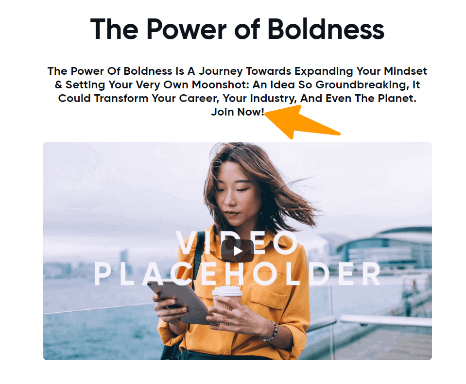 The Power Of Boldness - Naveen