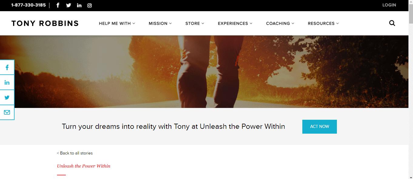 Unleash The Power - Tony Robbins Awaken the Giant Within