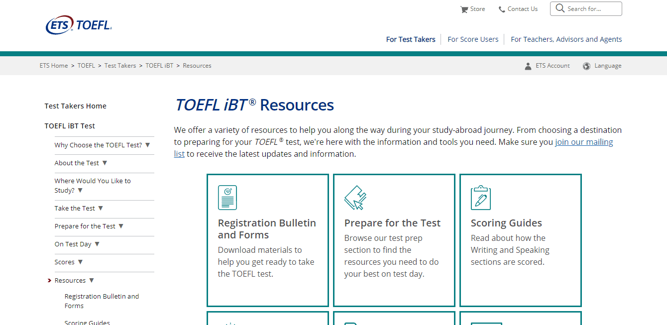 Toefl iBT Resources - TOEFL Course Online Free