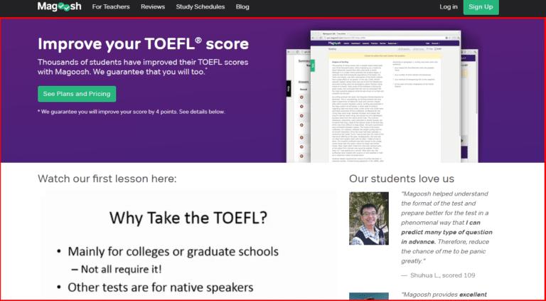 TOEFL-Prep-Magoosh-Overview