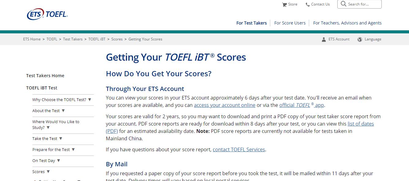 Getting TOEFL Score - Average TOEFL Score