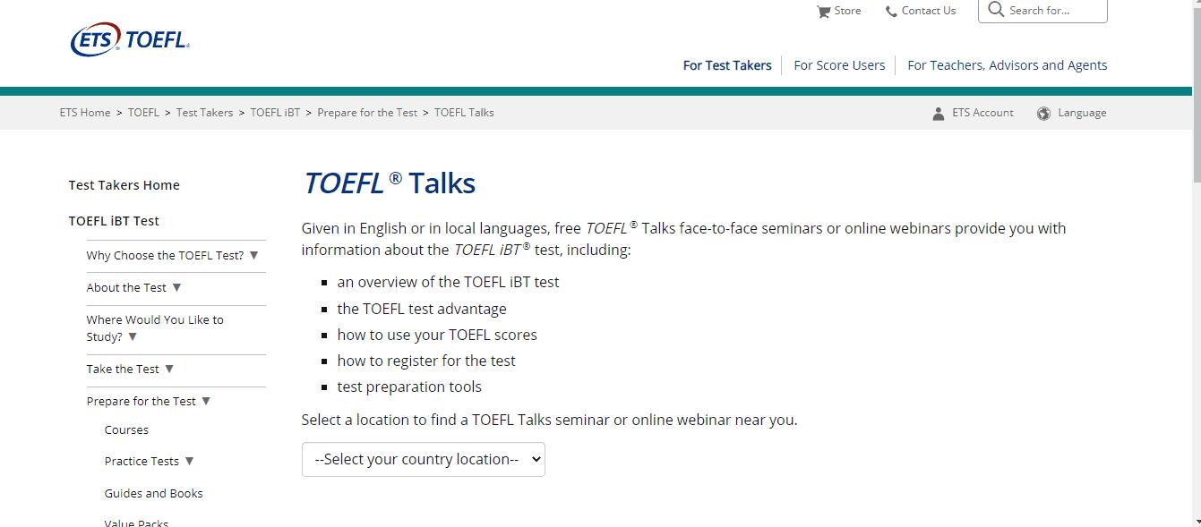 Toefl Talks - TOEFL Course Online Free