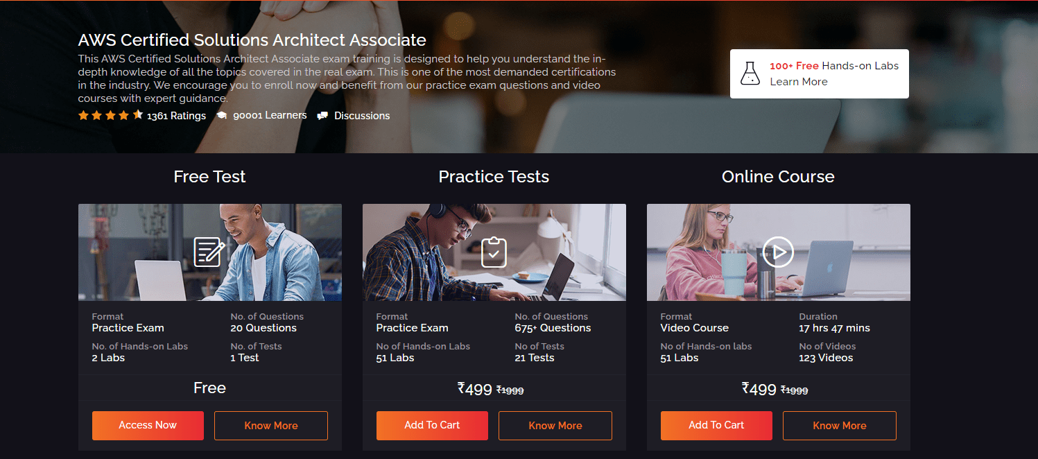 Whizlabs AWS CSAA Course Review - AWS Solutions Architect Associate Exam