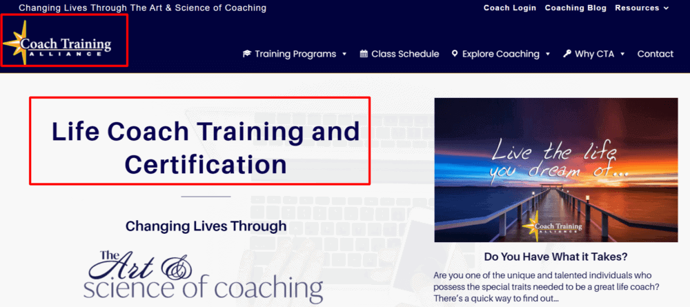 Coach Training Alliance Review