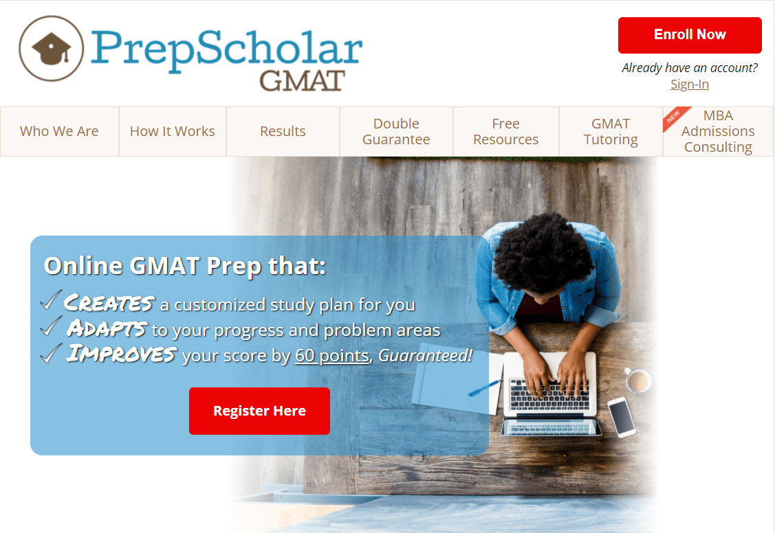 Prepscholar Review - Gmat