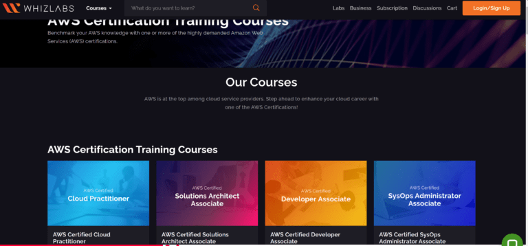 Whizlabs reviews courses