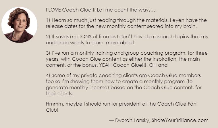 CoachGlue User Review