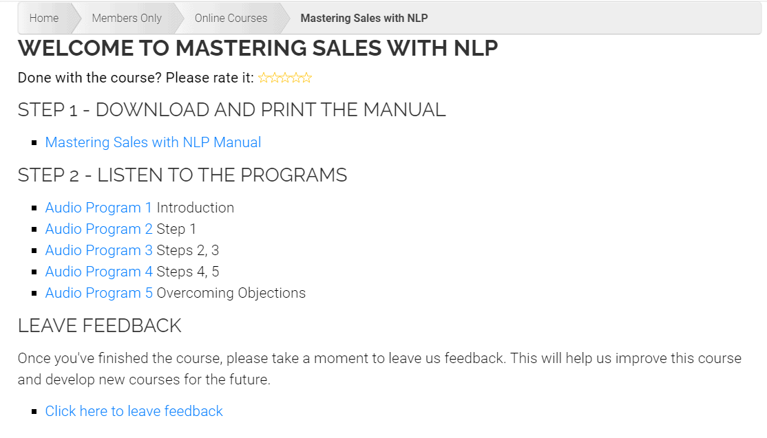 Mastering Sales With NLP