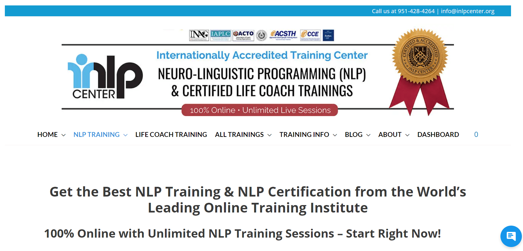 Best Best NLP Training Courses - NLP Training & Certification for Practitioner