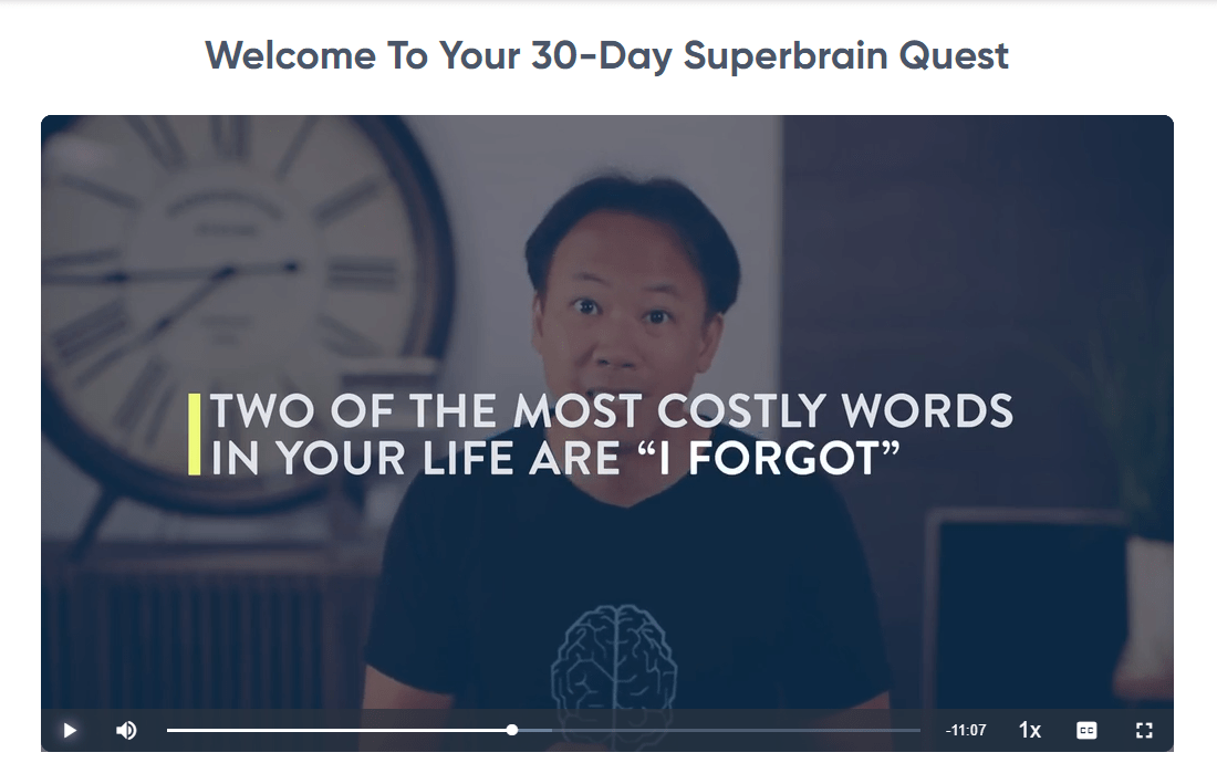 Superbrain Quest Introductory Video
