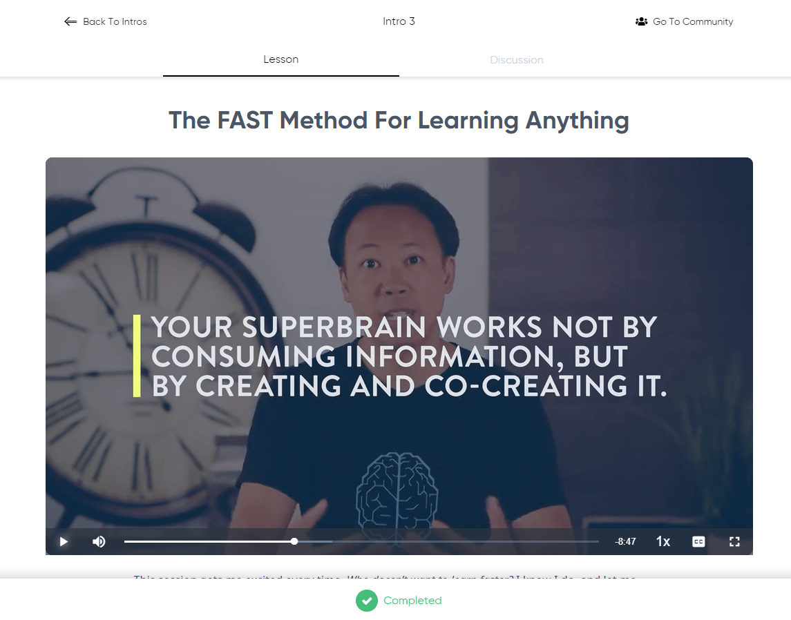 Superbrain Quest - The Fast Method For Learning