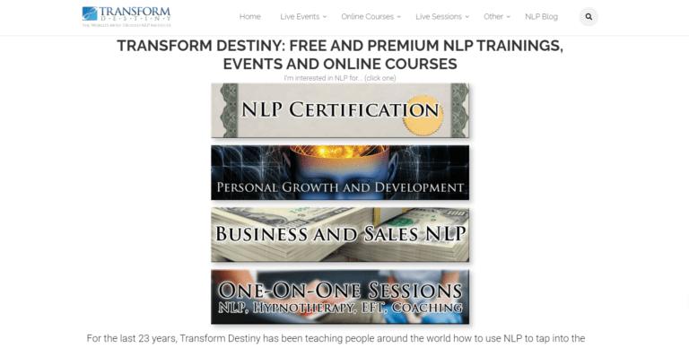 Transform Destiny NLP