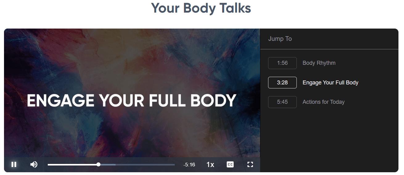 Speak and Inspire - Your Body Talks