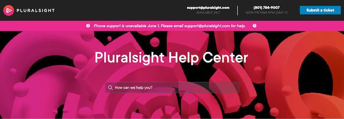 pluralsight-support